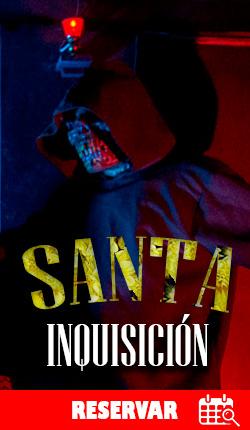 SANTA INQUISICIÓN - Cuarto de escape - CDMX