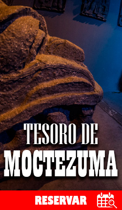 TESORO DE MOCTEZUMA - Cuarto de escape - CDMX