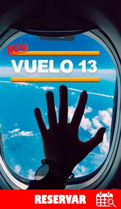 VUELO 13 - Cuarto de escape - CDMX