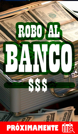 ROBO AL BANCO - Cuarto de escape - CDMX